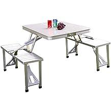 Tavoli E Sedie Da Campeggio Pieghevoli.Tavoli Sedie E Sgabelli Tavolo Da Campeggio Pieghevole Con Sedie