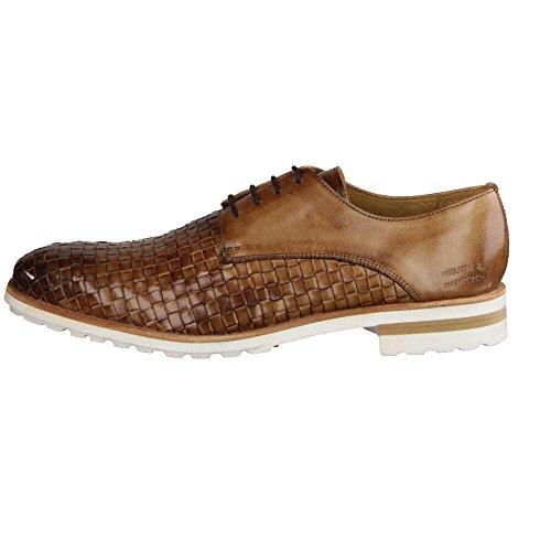 Melvin & Hamilton  Tom 8 Woven, Chaussures de ville à lacets pour homme Tortora