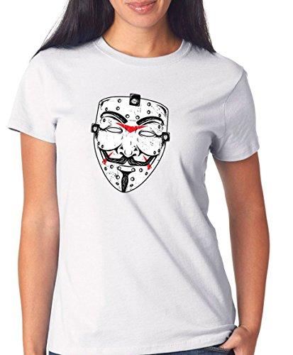 Certified Freak Anonymous Friday T-Shirt Girls White XXL