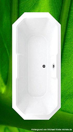 Preisvergleich Produktbild Badewanne 175x80 MADEIRA - Acryl 8-ECK
