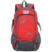 Mochila Camping Trekking Mochila 55L Multi-Funcional Resistente Al Agua Transpirable Luz Casual Diseño De