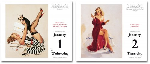 Pin-ups. Gil Elvgren – 2014 Tear Off Calendar (Taschen Tear-off Calendars) Discount