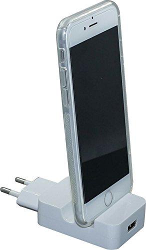 Totalcase 2in1 Uniwall Dockingstation für iPhone Samsung Micro USB EC0081