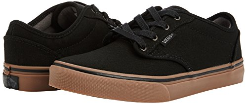 Vans Atwood Unisex-Kinder Sneakers Schwarz ((10 oz Canvas) black/gum)