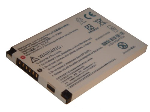 vhbw Li-Polymer Akku 1250mAh (3.7V) für Handy Smartphone Telefon HTC P3600, P3600 Trinity, P4000 Titan wie 35H00077-00M, BA S150, TRIN160.