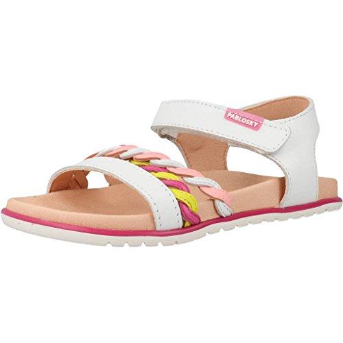 Sandali e infradito per ragazza, color Bianco , marca PABLOSKY, modelo Sandali E Infradito Per Ragazza PABLOSKY JASPE Bianco
