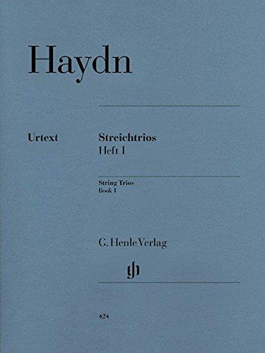 Streichtrios, Band 1. 2 Violinen und Violoncello