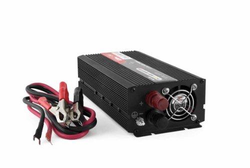 Convertisseur PUR SINUS 12V 220V 600 watts de dernière génération US-TRONIC® ::::: Meilleur rapport qualité-prix de sa catégorie ::::: Délivre un courant en 220 volts d'une pureté parfaite ::::: Rendement élevé, faible consommation à vide ::::: Garantissez à vos appareils un fonctionnement optimal + une protection absolue ::::: Livraison gratuite en 24H avec Amazon Premium.
