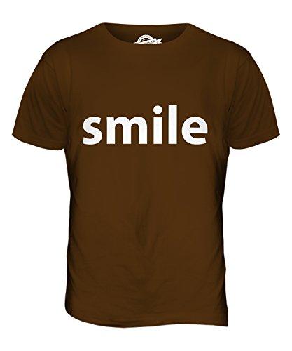 CandyMix Smile Lächeln Herren T Shirt Braun