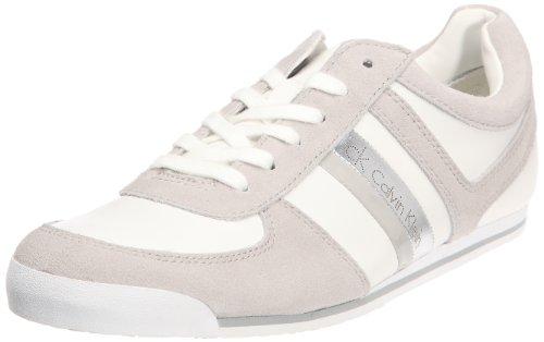 Calvin Klein Ward, Baskets mode homme Blanc/gris