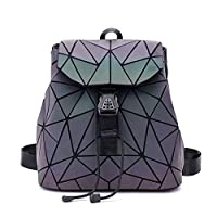 RFSAZ backpack Small Backpack Women Holographic Sequin Female Backpacks for Teenage Girls Bagpack Drawstring Bag Designer Korean Style