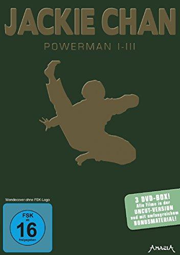 Jackie Chan - Powerman I-III [3 DVDs] Preisvergleich