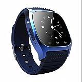 SMART Watch Bluetooth Montre-bracelet podomètre et qualité du sommeil moniteur Santé tracker d'activité Smart Watch Cadran SMS Rappeler lecteur de musique Bluetooth Smart Watch pour smartphone Android