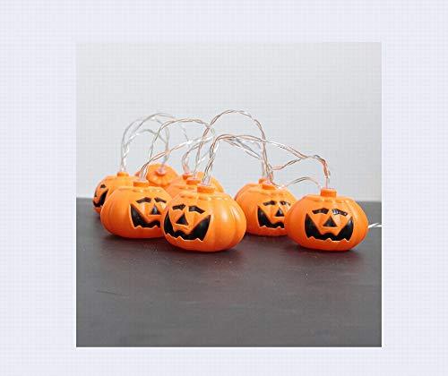 GYY LED Halloween Laternen, Kürbis Laternen, Batterie Lichter, Alle Arten von Feiertagsdekorationen,EIN,7 * 8 *