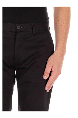 G43UMXFUFBNB0665 Dolce&Gabbana Pantaloni Uomo Cotone Nero Nero