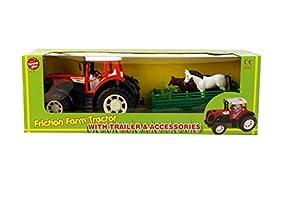 A to Z A a Z:01760 Tractor de Granja con Remolque y Accesorios