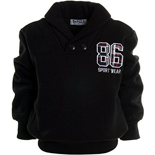 BEZLIT -  Felpa con cappuccio  - Camicia - Collo a U  - Maniche lunghe  - ragazzo nero 14 anni