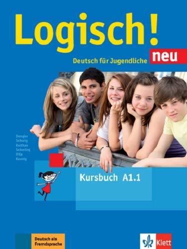 Logisch! neu a1: deutsch für jugendliche kursbuch a1 con archivos de audio para descargar