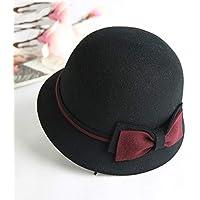 Sombrero de Copa Sombrero de Copa Moda de otoño e Invierno Sombrero Salvaje Sombrero  de Lavabo 404b410aa78