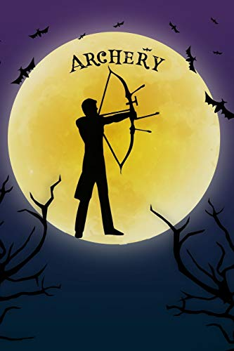 ining Log: Cool Spooky Halloween Theme Blank Lined Student Exercise Composition Book/Diary/Journal For Archers, Coaches, Trainers, 6x9, 130 Pages (Halloween Edition) ()