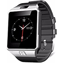 DXable Bluetooth reloj inteligente - Reloj de pulsera U8 Uwatch Fit para smartphones iOS Apple iPhone 4/4S/5/5 C/5S Android Samsung S2/S3/S4/Note 2/Note 3 HTC Sony Blackberry (La Plata)