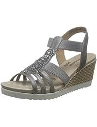 Chaussures de confort femme - REMONTE - Gris - D3453-90 - Millim