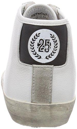 Bikkembergs 660291, Baskets hautes homme Noir - Schwarz (weiß/schwarz)