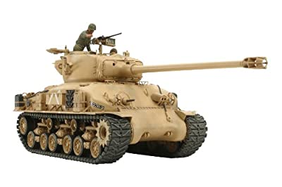 Tamiya 300035323 - 1:35 Israelischer Panzer M51 Super, 105 mm von TAMIYA