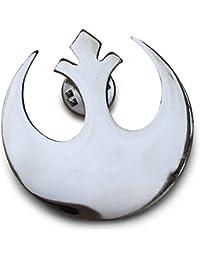 Star Wars. Guerra De Las Galaxias. Alianza Rebelde. Broche plateado