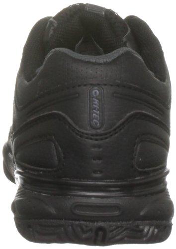 Hi-Tec XT108, Jungen Sportschuhe - Fitness Schwarz (Black/Dark Grey)