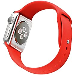 Strap iWatch G421 Silicone Red