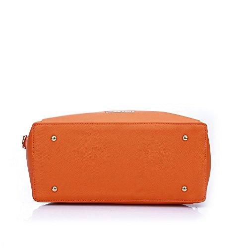 Caprese Porsche Women's Tote Bag (Orange)