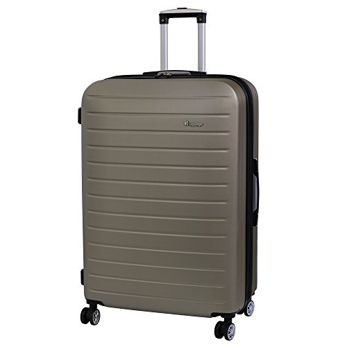 it luggage Legion 8 Wheel Large Spinner Expandable Hard Case Koffer, 80 cm, 161 liters, Gold