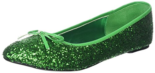(Funtasma Damen Star-16G Ballerinas, (Green GLTR), 41 EU)