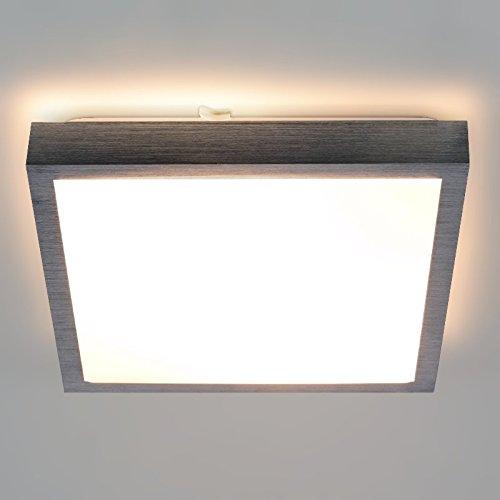 """LED/Halogen Aluminium Lampe""""Samira"""" Wandleuchte/Deckenleuchte Dunkelgrau IP20 2x E27 Fassung Innenlampe Deckenlampe Deckenstrahler Flurleuchte 230V"""
