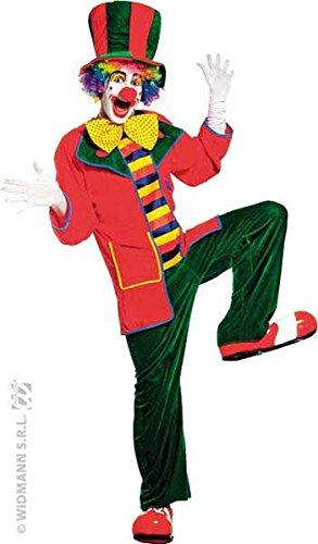 Clown auguste Jacke velours, Größe l