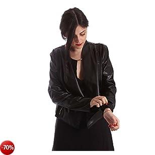 GAUDI - Giacchetto donna slim fit 73fd38201 46 (l) nero