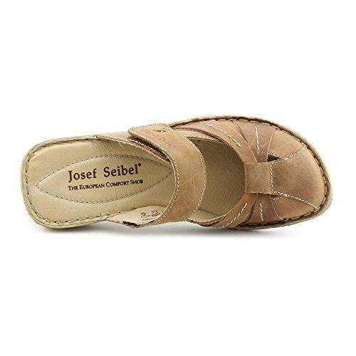 Josef Seibel Izzy Femmes Cuir Sandale Bark