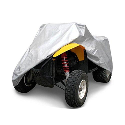 Plat Firm Quad Bike Tractor ATV Abdeckung Anti-UV Regen Wasserdicht UV Heatproof XL