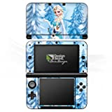 Nintendo 3 DS XL Folie Skin Sticker aus Vinyl-Folie Aufkleber Disney Frozen Elsa & Olaf Geschenke Merchandise