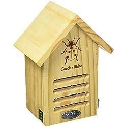 Esschert Wa37Ladybug Maison avec Ligne Dessin
