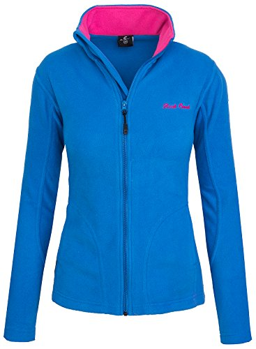 Navy Blue Jacke Fleece (Rock Creek Damen Fleecejacke Fleece Jacke Übergangs Jacke Sweatjacke D-389 [Blue L])