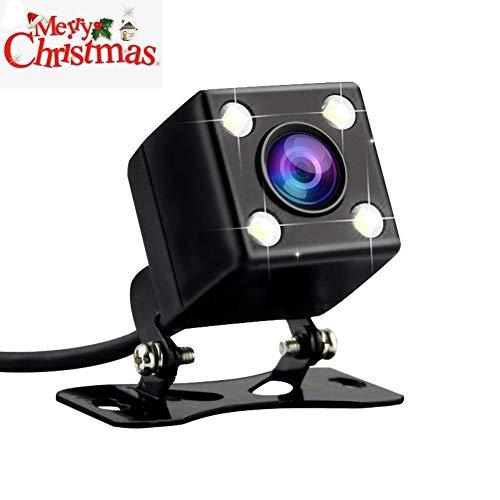 Rückkamera Rearcam für Azdome GS63H 4K Dashcam Auto Rückkamera - 2.5mm (4 Pin) 170 Blickwinkel 640 * 480 Pixel mit 4 LEDs, Nachtsicht, IPX67 Wasserdicht für Dash Cam DVR Video Recorder WR01