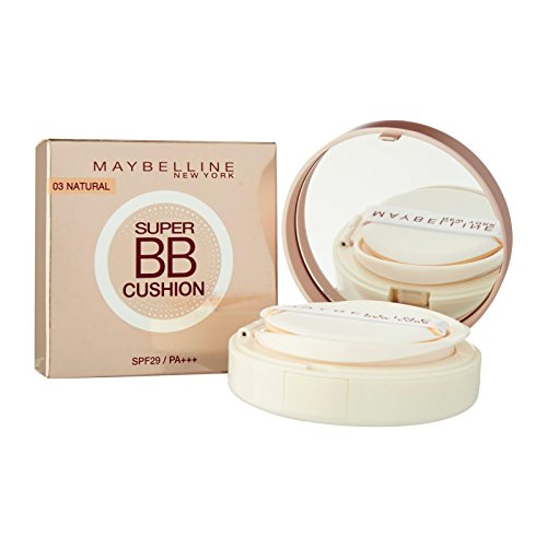 Maybelline New York BB Cushion Foundation, 03 Natural, 14g
