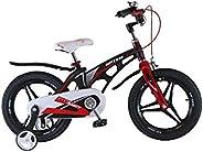 Upten Robot 14 inch Alloy children bicycle kids bike cycle (Black)
