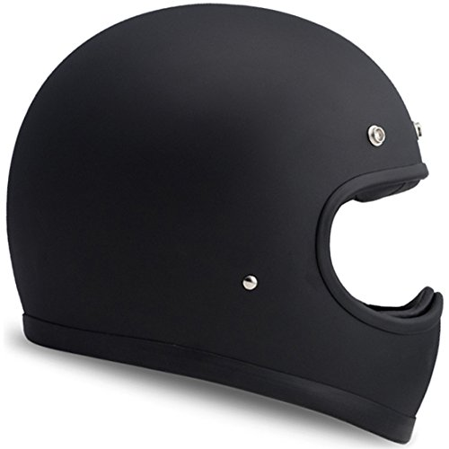 DMD Racer, Matt Black, S, Casco Moto