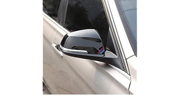 ABS Plastica Auto Retrovisore Laterale Specchietto retrovisore Coperchio per 1 2 3 4 serie F20 F30 F31 F21 F22 F23 F32 F33 F34 F35 X1 E84 Nero lucido