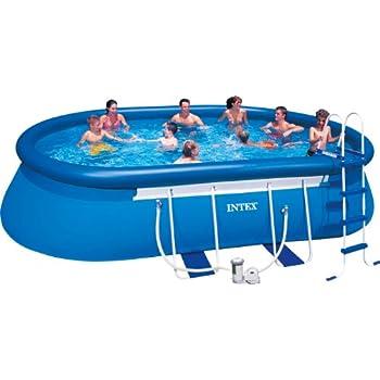 bestway 56269gs oval fast pool set 488 x 305 x 107 cm mit filterpumpe gs garten. Black Bedroom Furniture Sets. Home Design Ideas