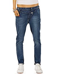 Bestyledberlin Damen Baggy Jeans, Relaxed Fit Boyfriend Baggyjeans, Skater Denim Hosen Low Rise j77e