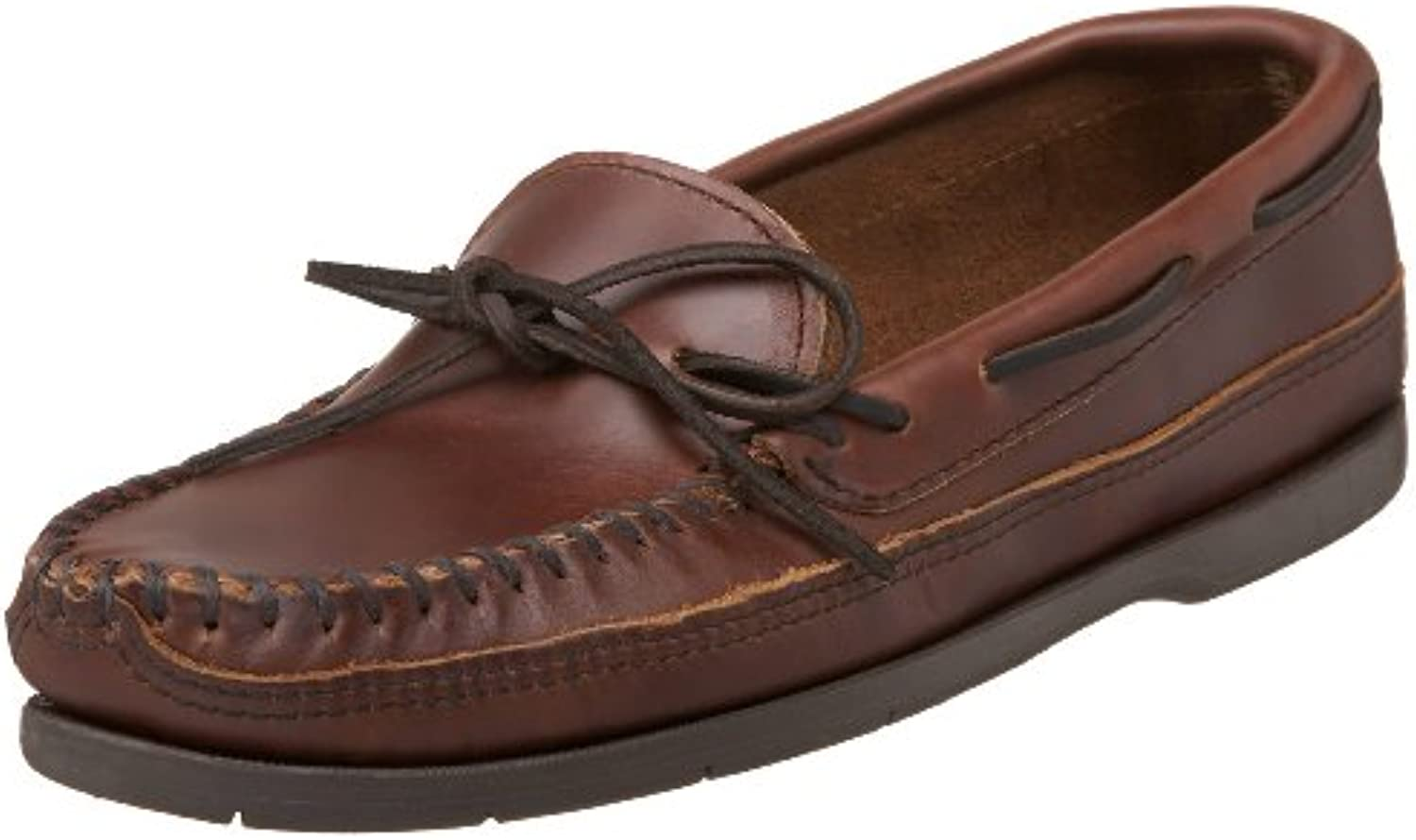 Minnetonka hombres Double Bottom Slip-On,marrón,8.5 M US